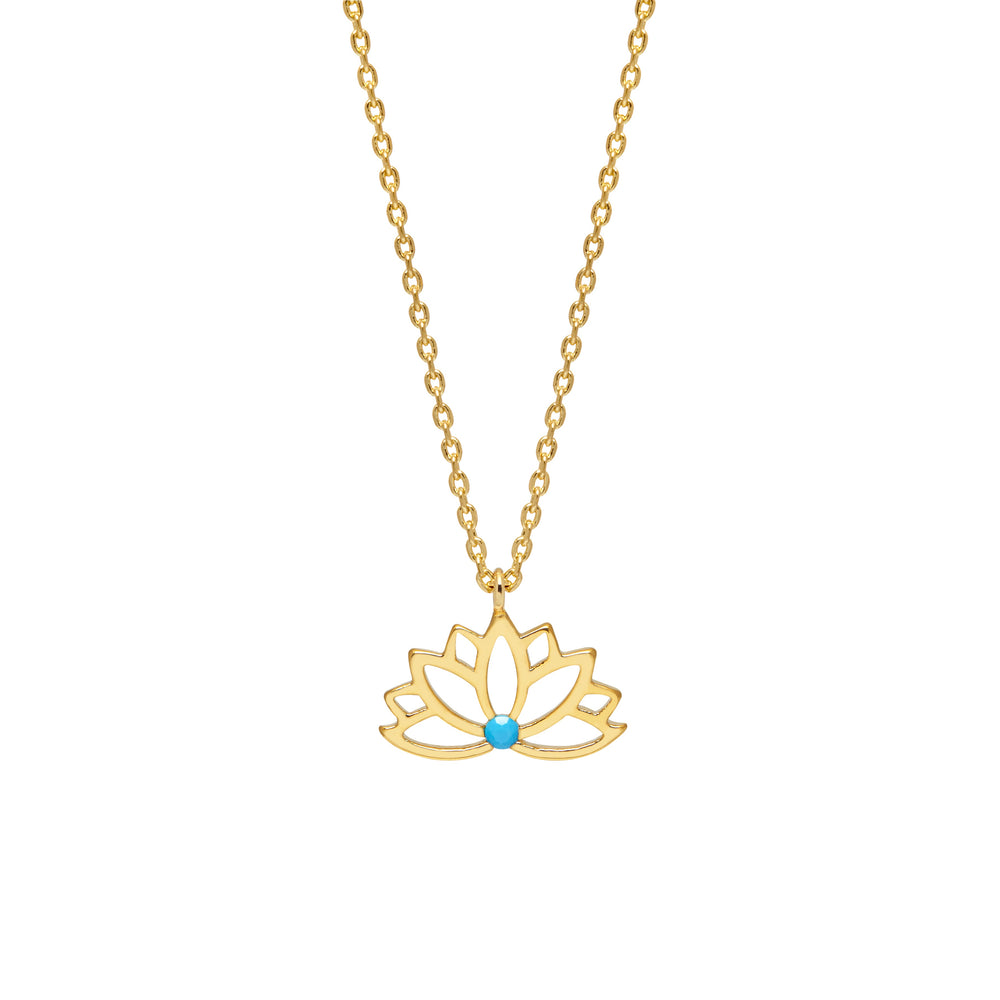 Positive Vibes Gold Plated Necklace