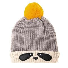Ronnie Raccoon Bobble Hat