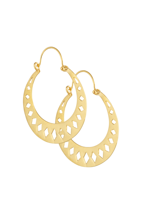 Golden Mira Earrings