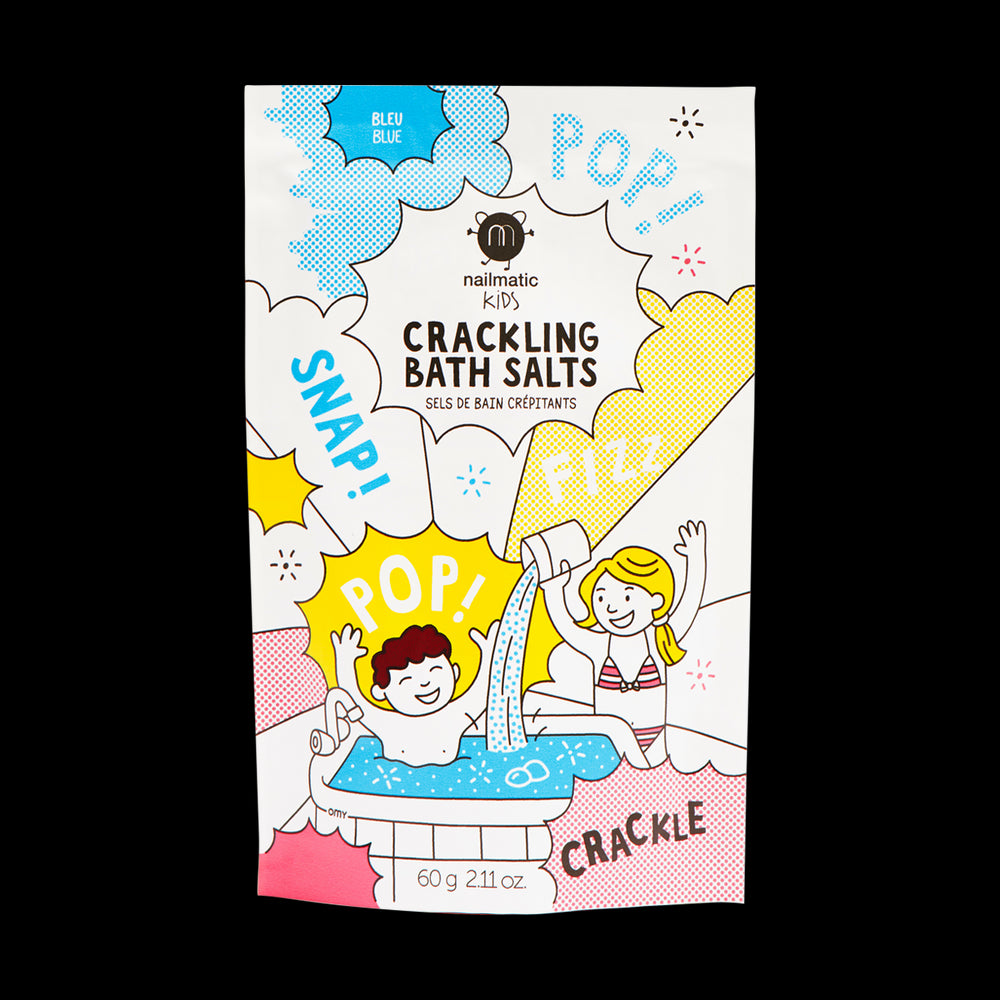 Nailmatic Crackling Bath Salts-Blue