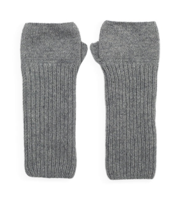Cashmere Wrist Warmer- Grey
