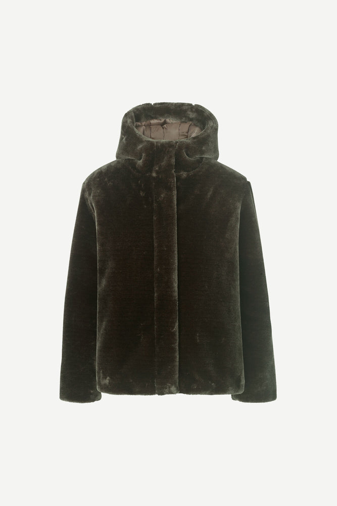 Sabi Jacket-Dark Olive