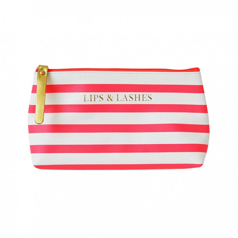Lips & Lashes Make-Up Bag