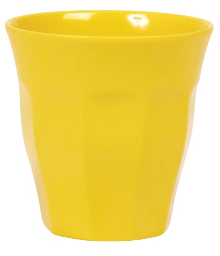 Solid Colour Melamine Cup in Yellow