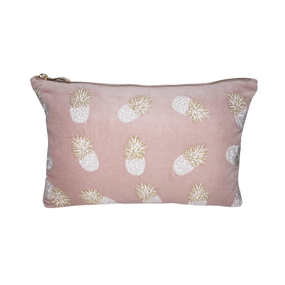 Pineapple Mauve Travel Pouch