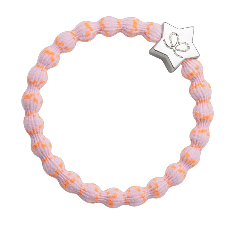 Silver Star Bubblegum Pink & Orange