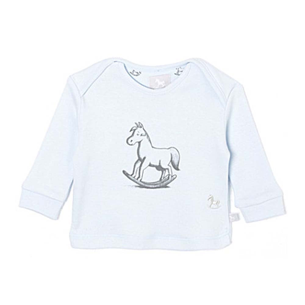Rocking Horse Jersey Top - Blue
