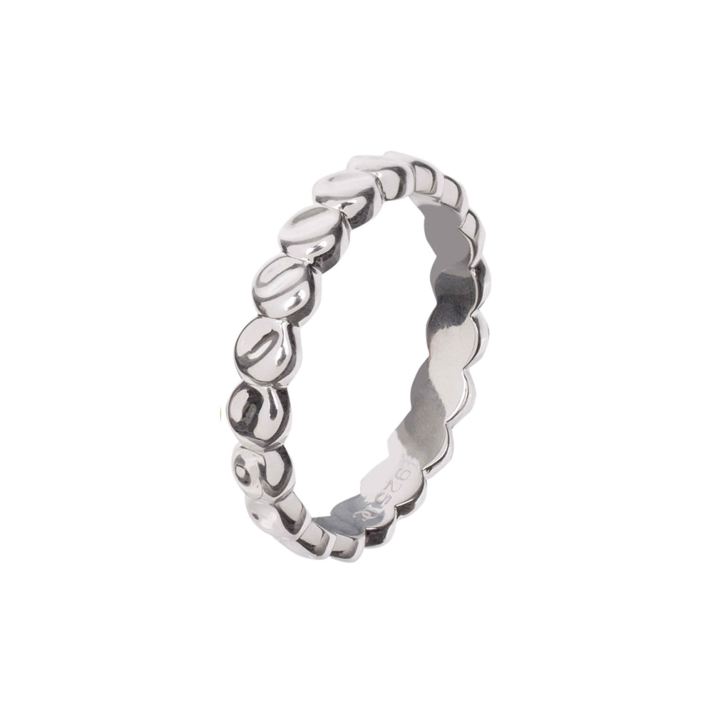Silver Palermo Disc Ring