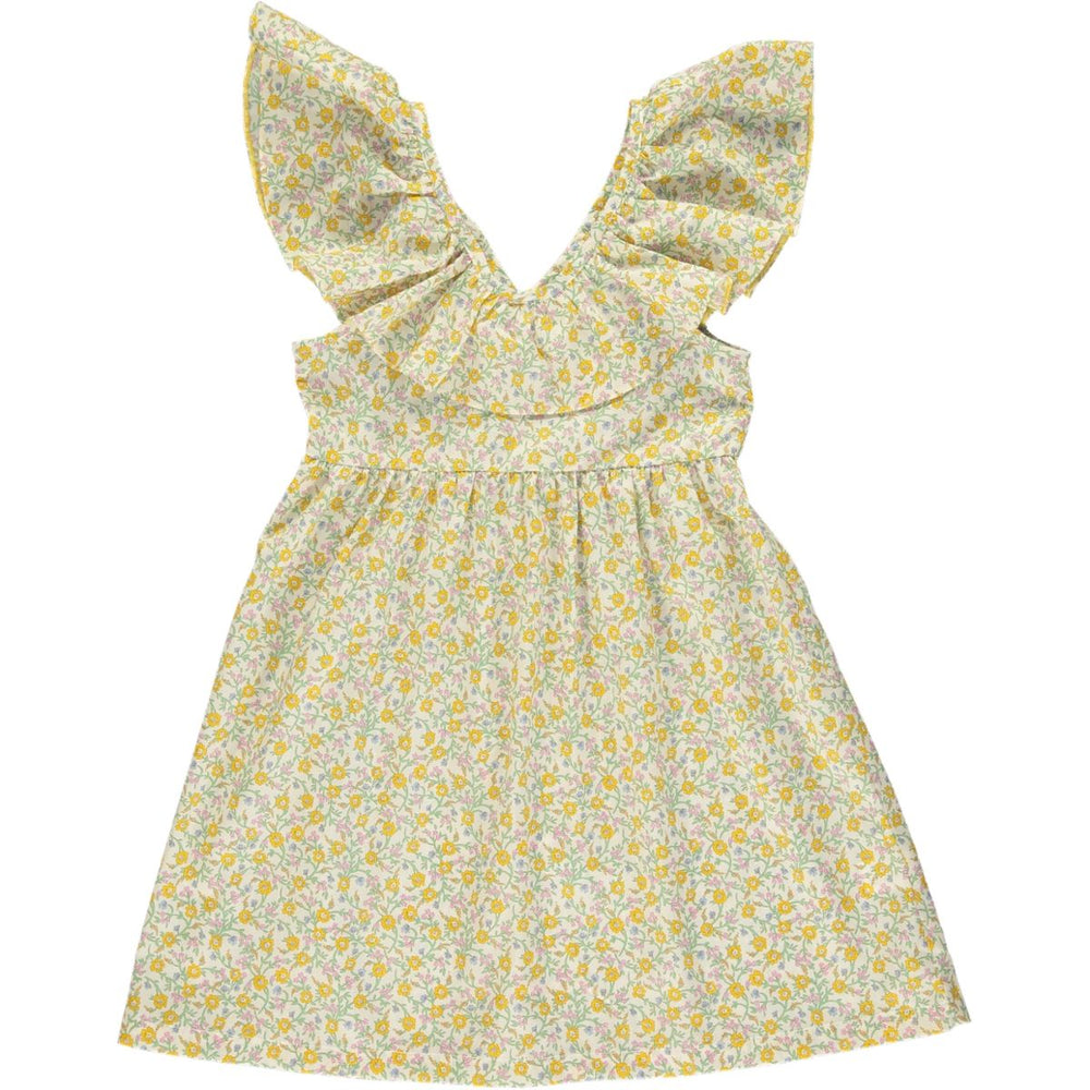 Bea Dress- Hannah Fay Yellow