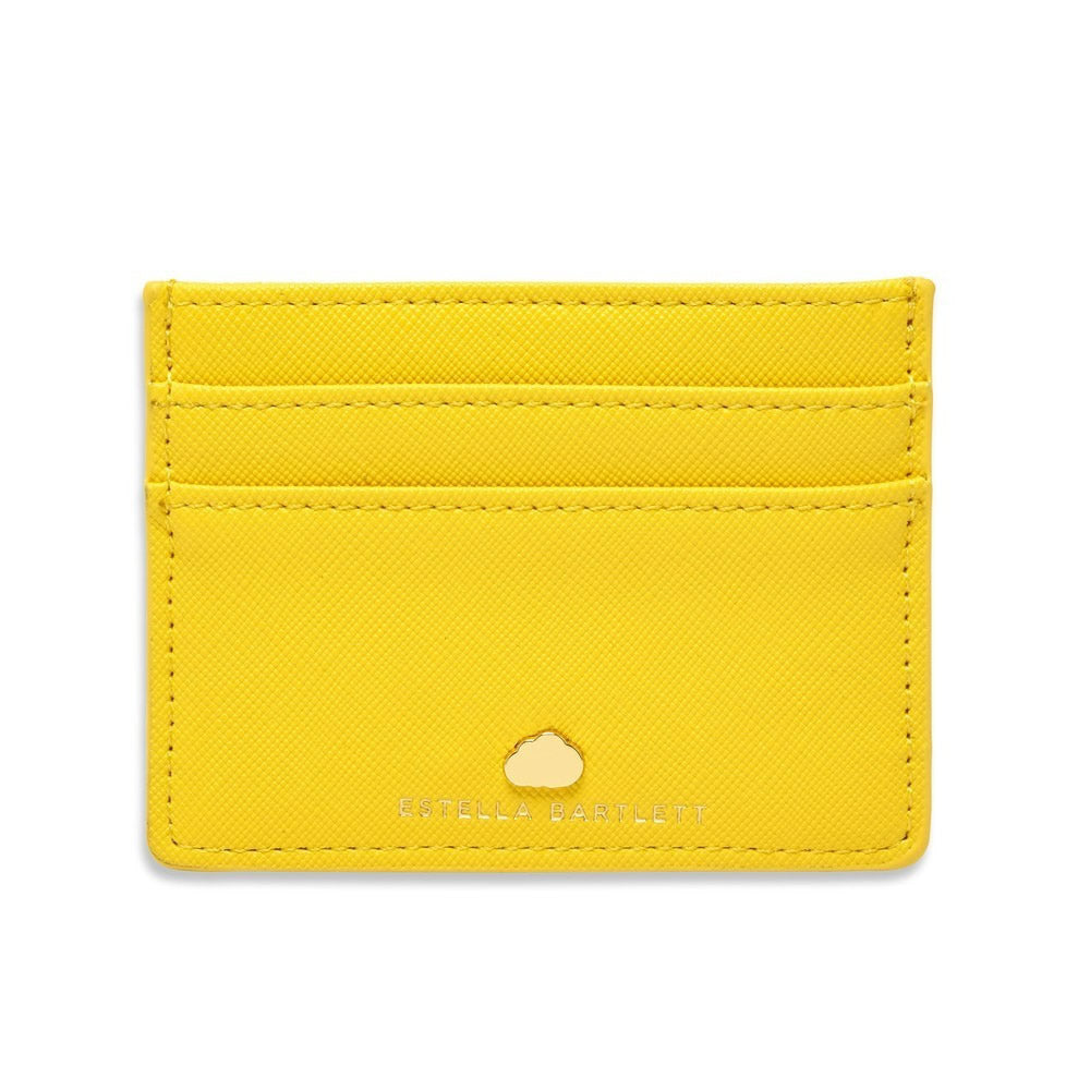 Card Holder Yellow - Positive vibes