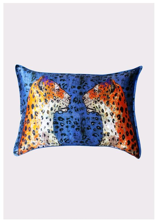 Silk Pillowcase- Staring Leopard