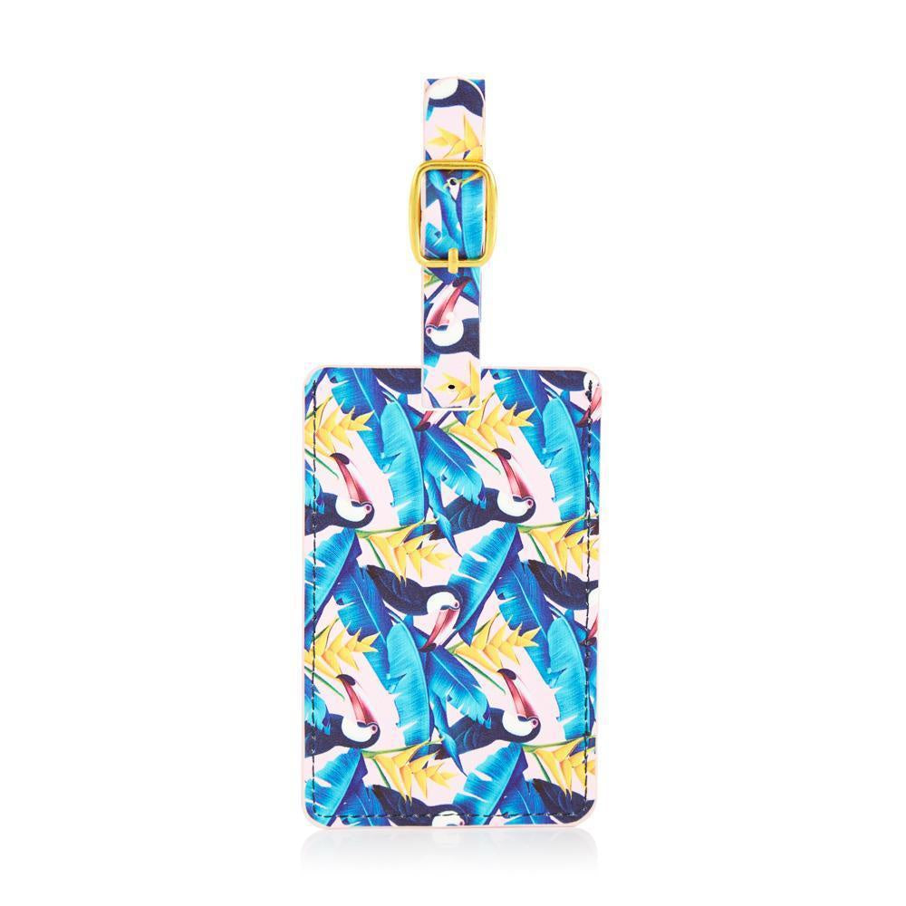 Tropical Toucan Luggage Tag
