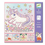 Unicorn Stencil Set