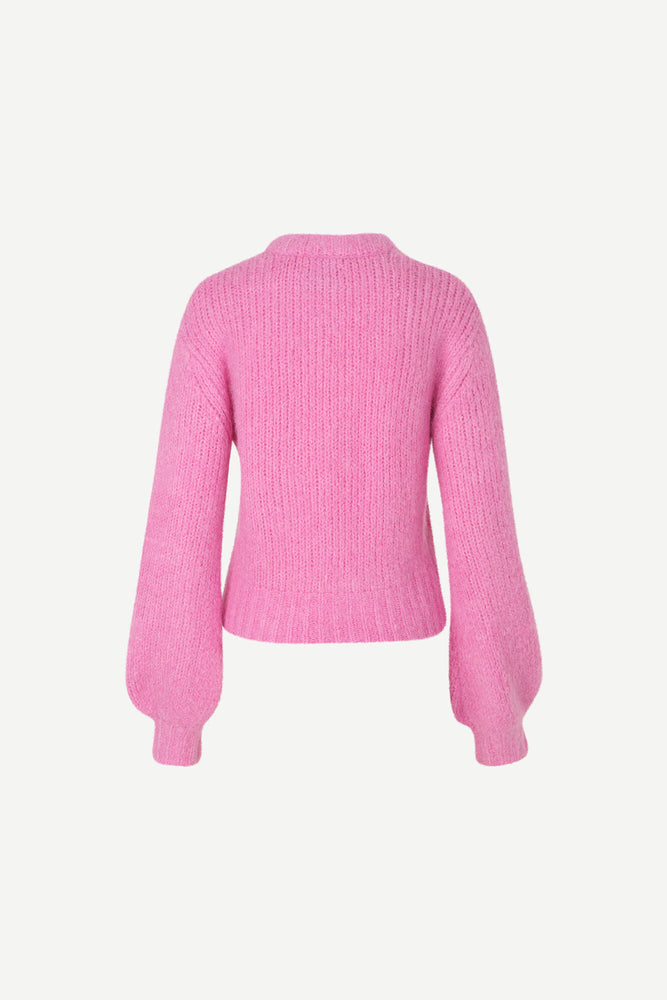 Abby Crew Neck Jumper, Bubble Gum Pink