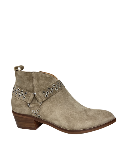 Alpe Buckle Boots- Baby Silk, Taupe