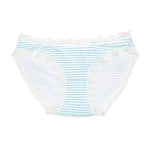 Blue Candy Stripe Knickers