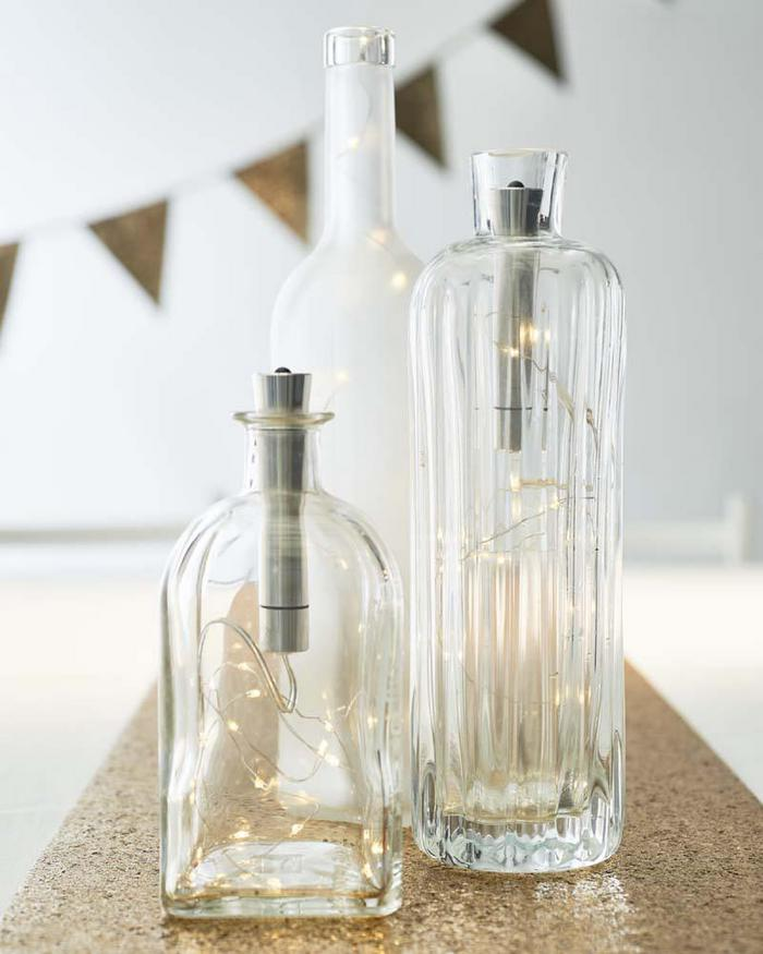 Gold Celebration Bottle Lights