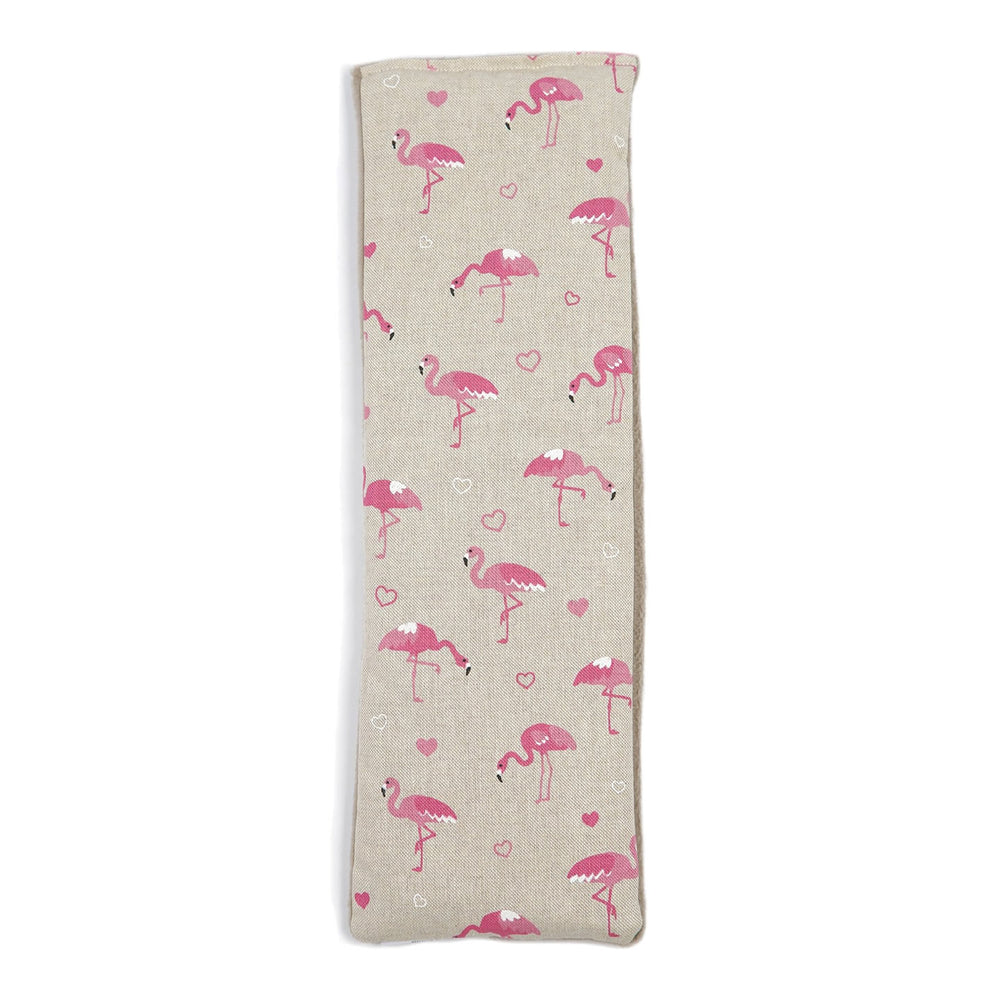 Lavender Grey Pink Flamingo Wheatbag