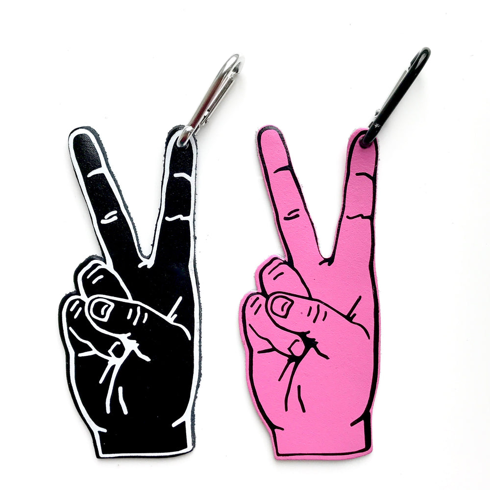 Peace Bag Tag - Pink