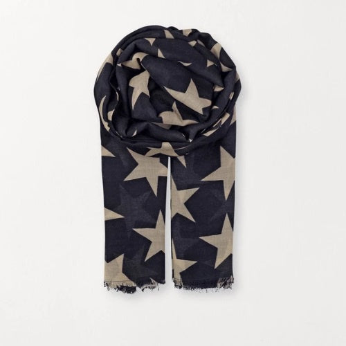 Supersize Nova Scarf - Navy