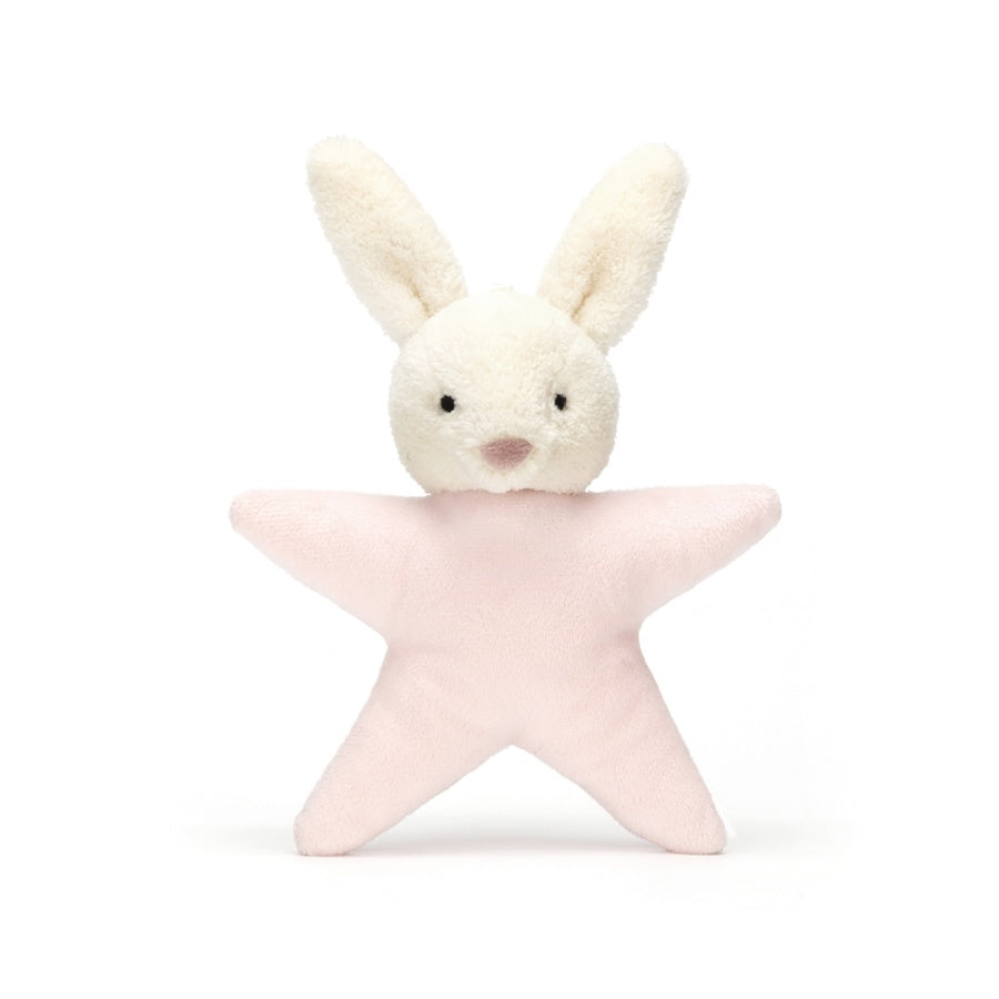 Star Bunny Rattle Pink