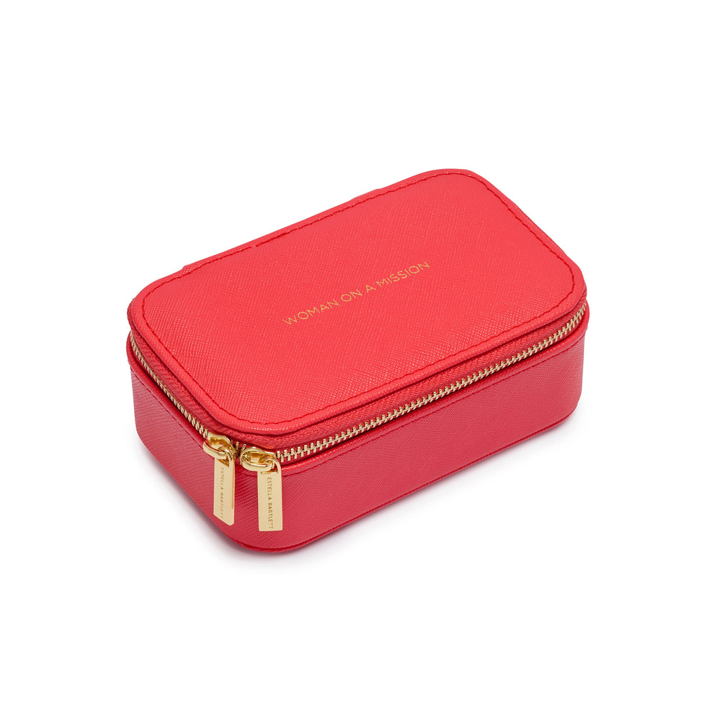 Mini Jewelry Box - Red - Woman On A Mission