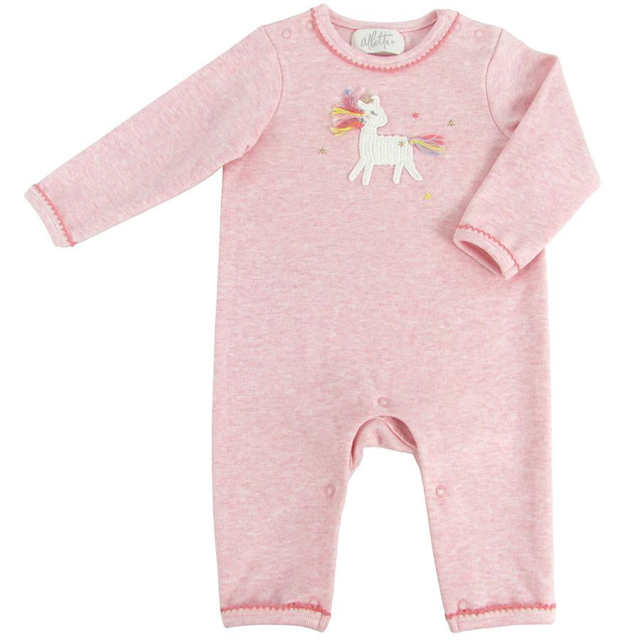 Crochet Unicorn Star Babygrow