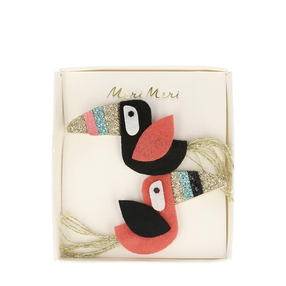 Meri Meri Toucan Hair Clips
