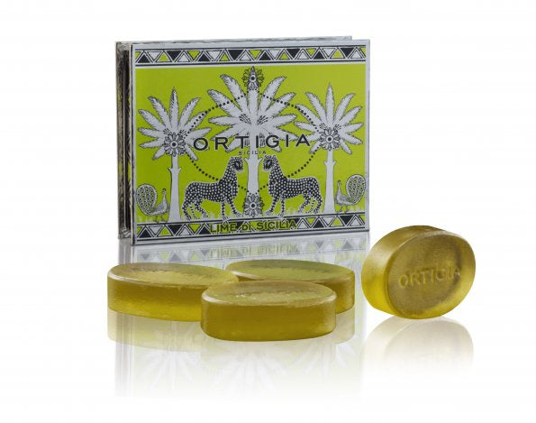 Ortigia Lime Soap 40gx4