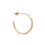 Gold Hoop Canted