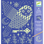 Glow in the Dark Scratch Cards- At Night