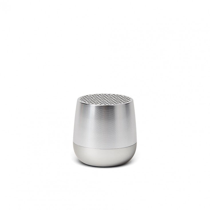 Lexon Portable Bluetooth Speaker- Shiny Aluminium