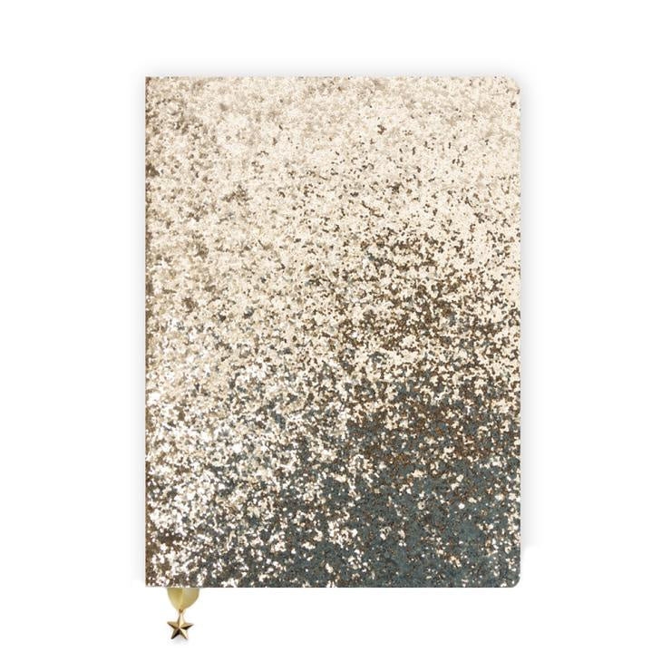 Gold Sequin Notebook