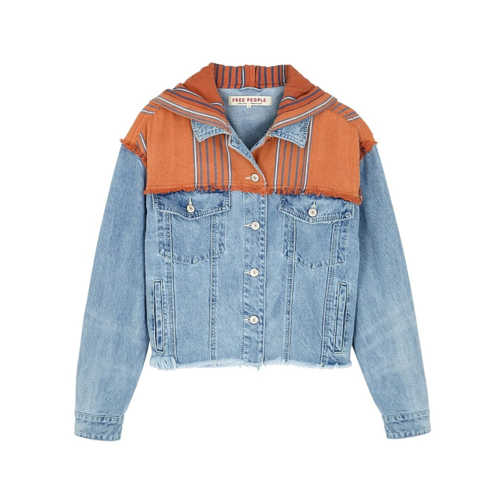 Baja Hooded Denim Jacket