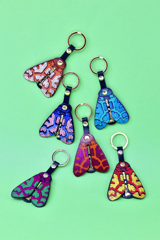 Moth Key Ring