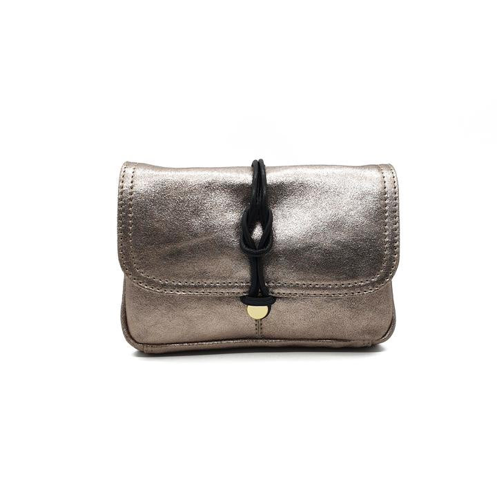 Delfine Clutch Bag-Gold