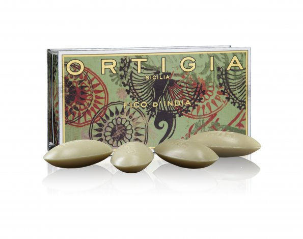 Ortigia Gift Box of 4 Soaps: Fico