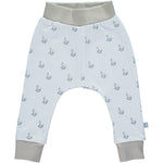 Blue Rocking Horse Print Jersey Pants