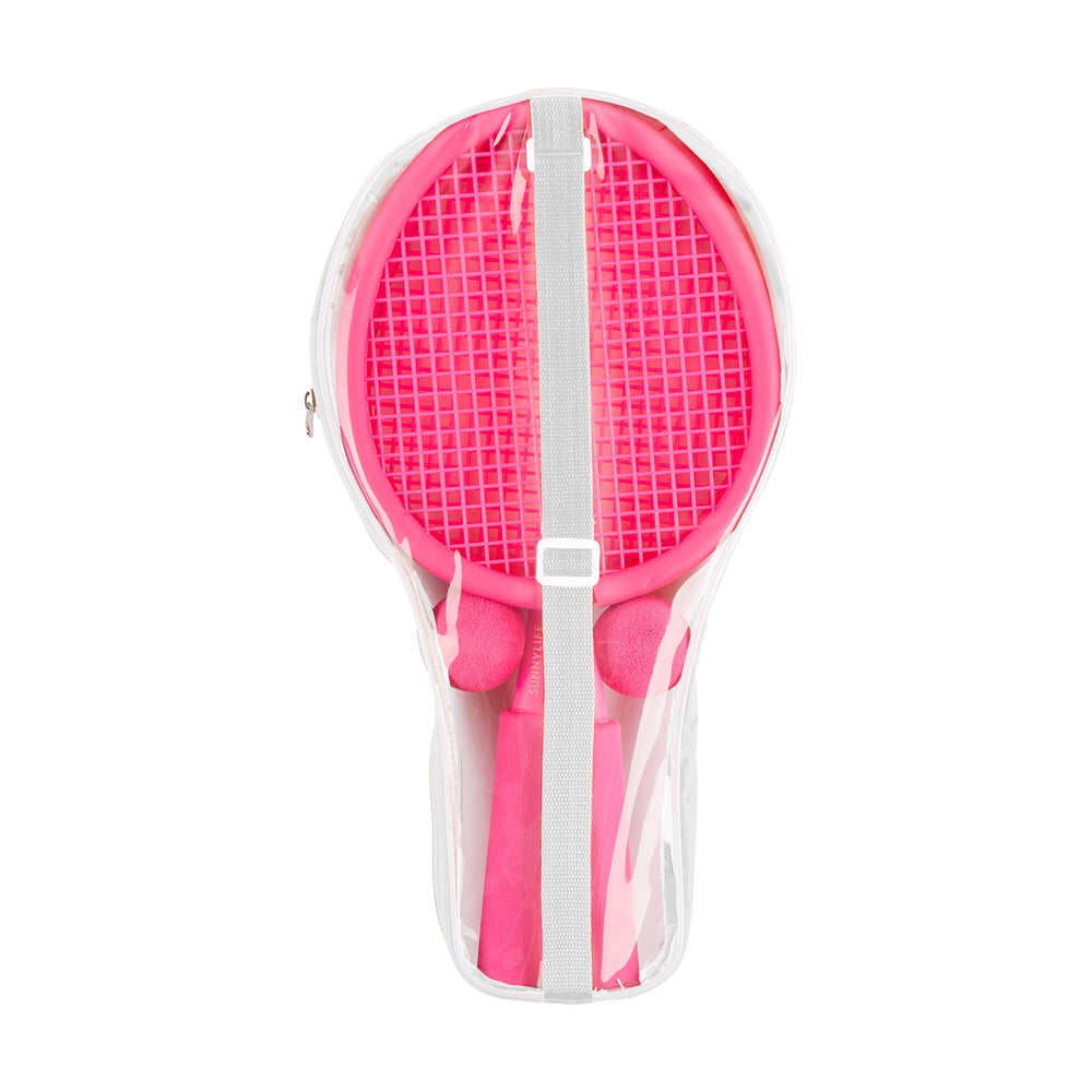 Foam Beach Paddles Neon Pink