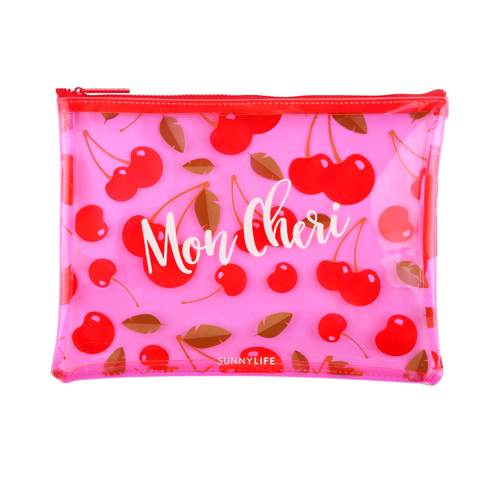 Cherry See Thru Pouches