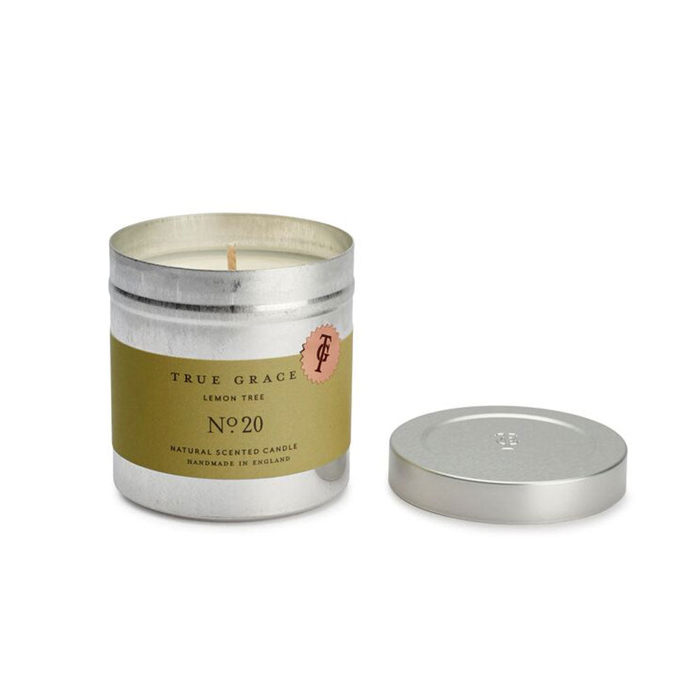 Lemon Tree Tin Candle