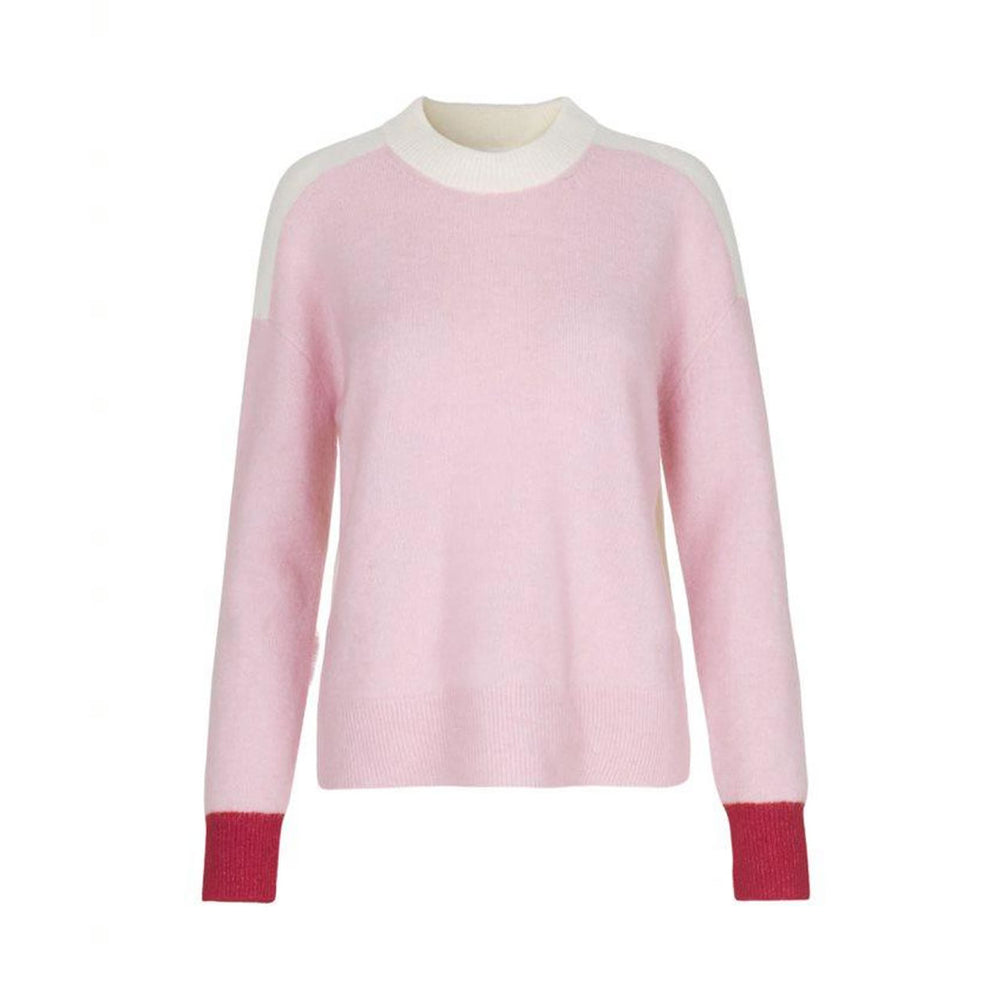 Anour Jumper in Pink Sea