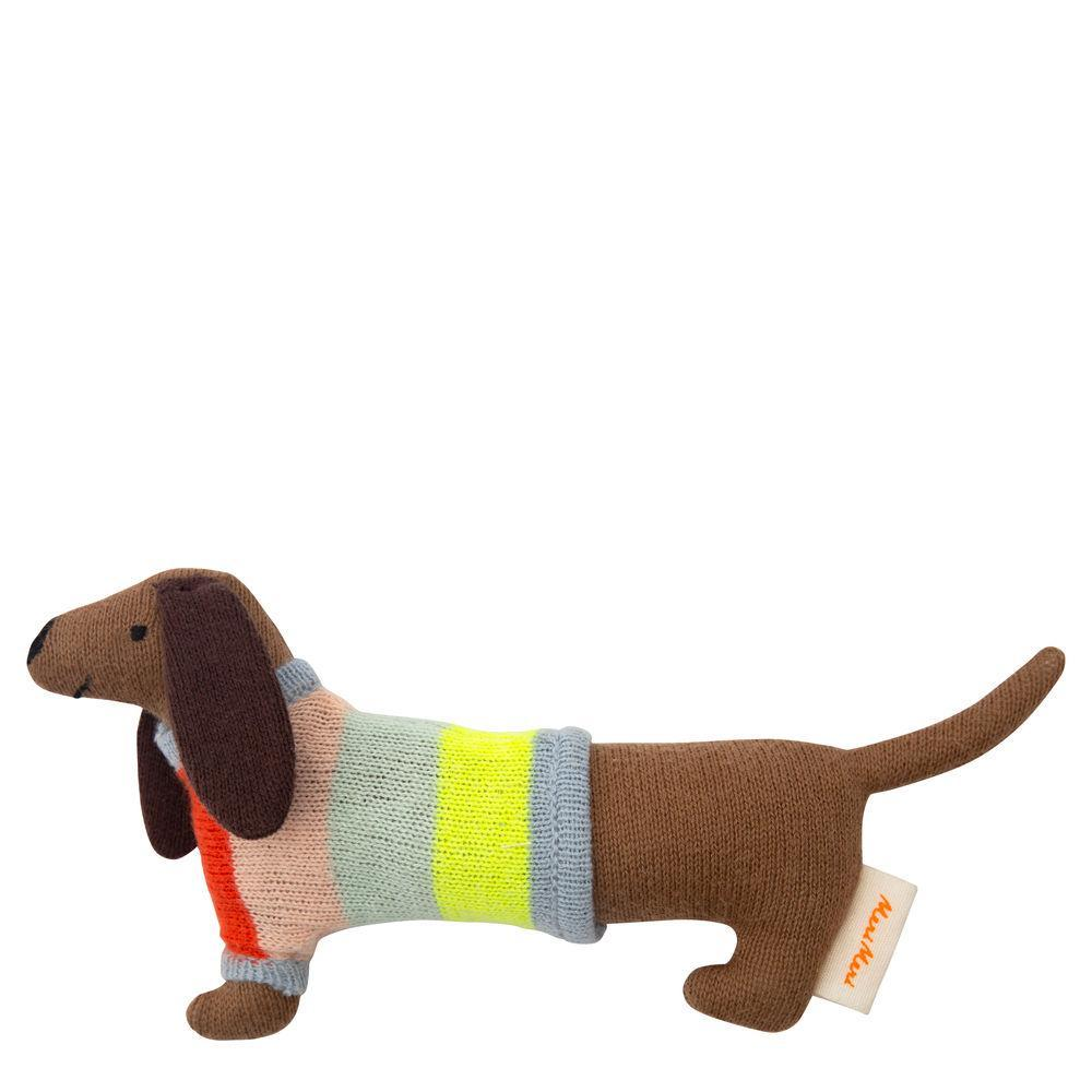 Sausage Dog Baby rattle