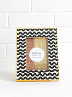 Wave Photo Frame - Yellow