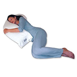 Snoozer White European Natural Goose Down Upper Body Pillow