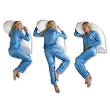 Load image into Gallery viewer, Snoozer Heavenly Down™ Synthetic Micro-Fiber Upper Body Pillow