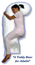 Load image into Gallery viewer, SNOOZER® Full Body Pillow (White European Down)