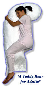 SNOOZER® Full Body Pillow (White European Down)