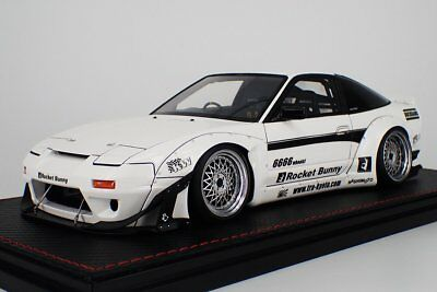 1:18 Ignition Model Rocket Bunny  180SX White