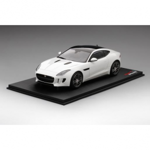 1:18 Top Speed Jaguar F Type Coupe 2017 - Polaris White